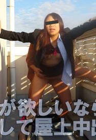 Muramura 090815_279 化妆品销售女郎屋顶中出