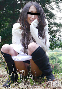 10musume 042316_01 美尻美女初次的野外露出