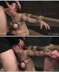 【SexuallyBroken】Busty Bella Rossi BaRS show with epic BBC丰满的熟女挑战深喉、捆绑