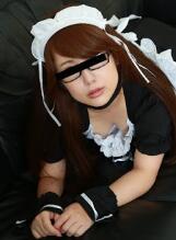 天然素人 080218_01-10mu 我欺骗了在女仆咖啡厅工作的眼镜女孩